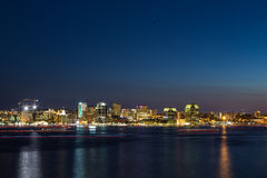 Halifax Skyline at Night Royalty Free Stock Image