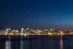Halifax Skyline at Night Royalty Free Stock Image