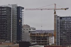 Halifax skyline royalty free stock photos
