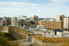 Halifax stad - Nova Scotia - Kanada Arkivfoton
