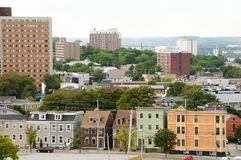 Halifax stad - Nova Scotia - Kanada Royaltyfri Bild