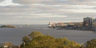 halifax strand Royaltyfri Bild