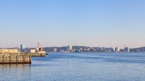 Halifax strand Royaltyfri Fotografi