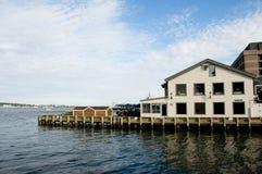 Halifax strandbyggnader - Nova Scotia - Kanada Arkivbilder