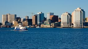 Halifax van de binnenstad, Nova Scotia stock foto