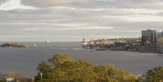 Halifax Waterfront royalty free stock image