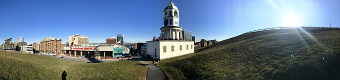 Halifax-Zitadellen-Hügel Lizenzfreies Stockfoto