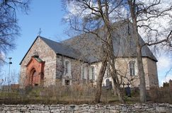 Halikko Church, Finland royalty free stock images