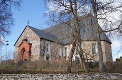 Halikko Kirche, Finnland Lizenzfreie Stockbilder