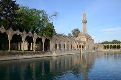 Halil拉赫曼清真寺 库存照片