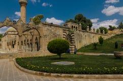 Halil-ur Rahman Mosque, lago santo (lago) fish, Urfa Immagini Stock