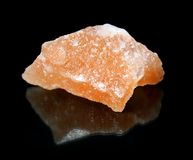 Halite mineral - stone salt Stock Photo