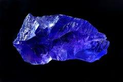 Halite púrpura Imágenes de archivo libres de regalías