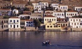 Halki-Dodecanese (Grecia) Imágenes de archivo libres de regalías