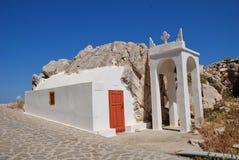 Halki island chapel, Greece Royalty Free Stock Images