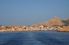 Halki island, Greece Stock Photo