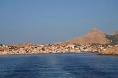 Halki island, Greece Stock Photo