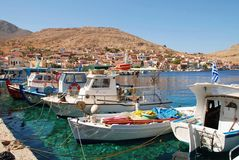 Halki island, Greece Royalty Free Stock Image