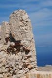 Halki wyspy kasztel, Grecja Zdjęcie Royalty Free