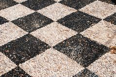 halki wyspy mozaiki otoczak Obrazy Royalty Free
