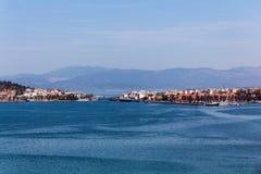 Halkida Grekland Arkivfoto