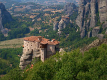 Halkidiki. Meteora monastery complex. Royalty Free Stock Photos