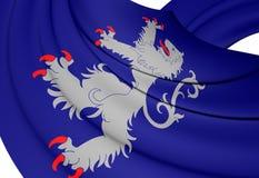 Halländsk flagga, Sverige vektor illustrationer
