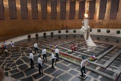 Hall воинской славы на Mamaev Kurgan volgograd Стоковые Изображения