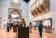 Hall с украшением в Dell Опере del Duomo Museo Стоковые Изображения