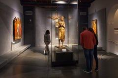 Hall с Donatello работает в опере Dell Museo Стоковое Изображение RF