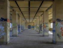 Hall abandoned Royalty Free Stock Image