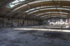 Hall abandoned Stock Images