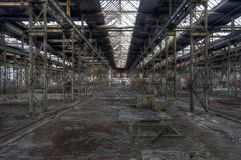 Hall abandoned Royalty Free Stock Photos
