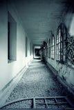 Hall abandoned house Stock Image