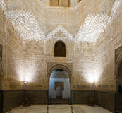 Hall of the Abencerrages, Alhambra.  Granada,  Spain Stock Image