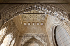 The Hall of the Abencerrajes, Sala de los Abencerrajes, at Royal. Complex of Alhambra, Granada, Andalusia, Spain Stock Photos