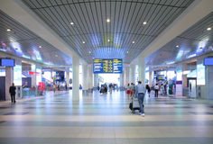 Hall of airport royalty free stock photography