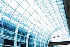 Hall at airport in Hong Kong Royalty Free Stock Photos