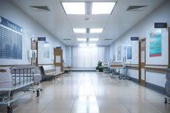 Hall akutmottagningen och poliklinikpatientsjukhuset vektor illustrationer
