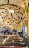 Hall américain de terminal d'aéroport Image libre de droits