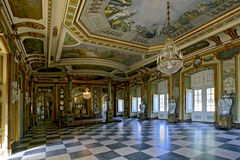 The Hall of Ambassadors in Queluz National Palace Stock Photo