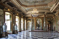 Hall of the ambassadors at the Queluz National Palace, Sintra Royalty Free Stock Images