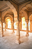 Hall of  Amber Fort, Jaipur, India Royalty Free Stock Image