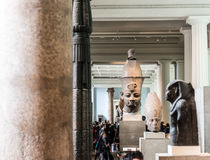 Hall of Ancient Egypt, The British Museum, London Royalty Free Stock Photos