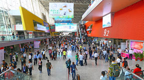 Hall area 9.2 at 120th canton fair guangzhou, china Royalty Free Stock Images