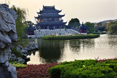 Hall Auspicious Merits Suzhou China Royalty Free Stock Photography