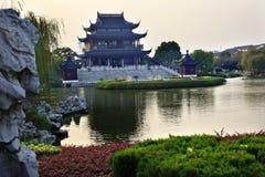 Hall Auspicious Merits Suzhou China Royalty Free Stock Photography