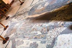 Hall av grekisk ortodoxSt George Basilica, Madaba Royaltyfri Fotografi