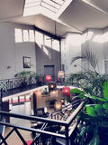 Hall av hotellet Arkivfoton
