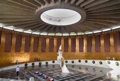 Hall av militär härlighet Minnes- komplexa Mamayev Kurgan i Volgograd Royaltyfri Bild